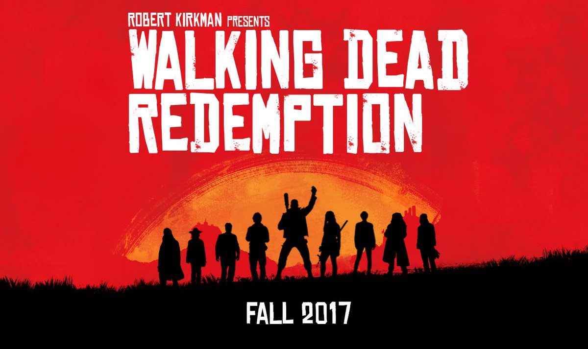 #RedDeadRedemption2 may be delayed, but #TheWalkingDead isn&#39;t. Also, we updated our poster: <br>http://pic.twitter.com/t4KZkoo05j