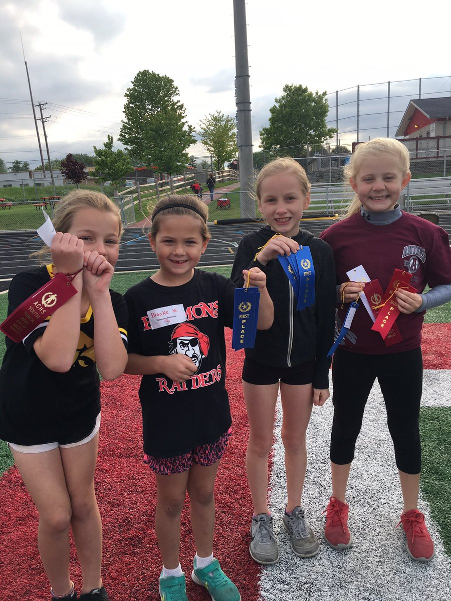Thank You to the ACHS Girls Track Team and Coaches for working the JR. Sequoits K-5 track meet! #Future$tars! <br>http://pic.twitter.com/ow7znprt41 &ndash; à Antioch Community High School