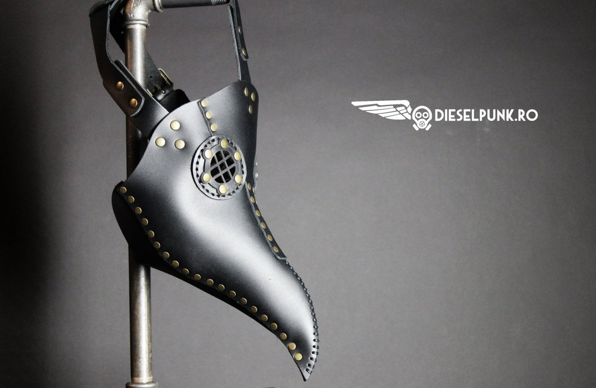Plague Doctor Mask -  Steampunk Mask - Leather Mask - Hallowee… https://t.co/cflInW3EAQ #plaguedoctor #SteampunkMask