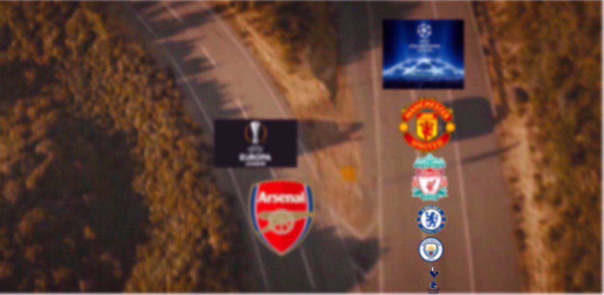 5 English teams in UCL next season.