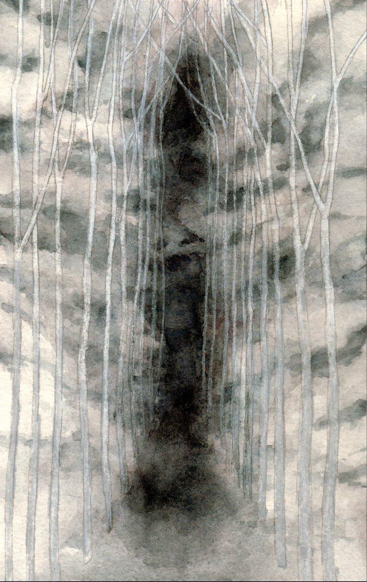 Path #watercolor and #pencil #imaginary #dream #landscape<br>http://pic.twitter.com/8TfA1Lq86d