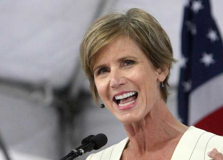 Sally Yates to Harvard Law graduates: 'Defining moments often don't come with a warning.' https://t.co/in2j3Lil0n