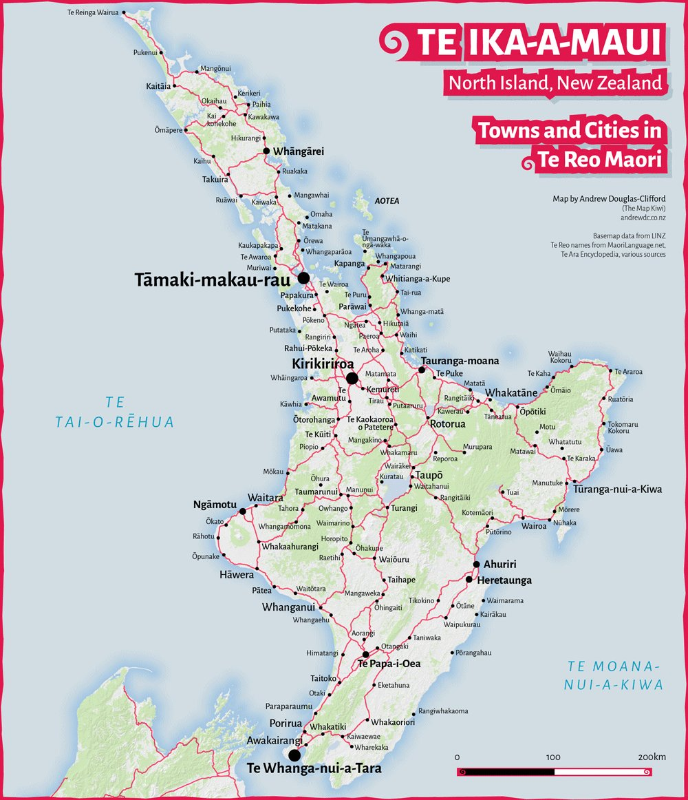 Map Of North Island New Zealand Towns.The Map Kiwi On Twitter Day 6 Of Themapkiwi Cartography