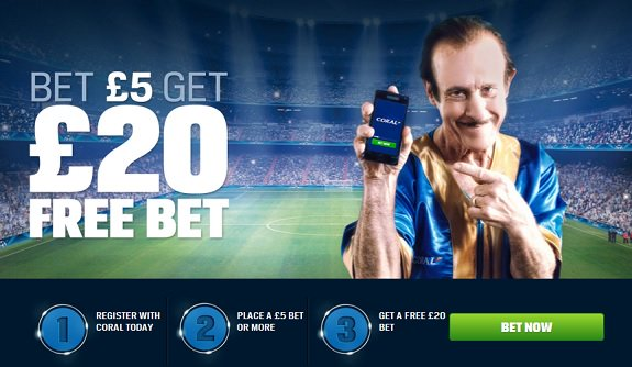 Bet 5 Get Extra 20 - Sign Up to Coral Online - Click Here  http:// bit.ly/CORALBETS  &nbsp;   #lfcfamily #freebet <br>http://pic.twitter.com/icqA9rCDeq