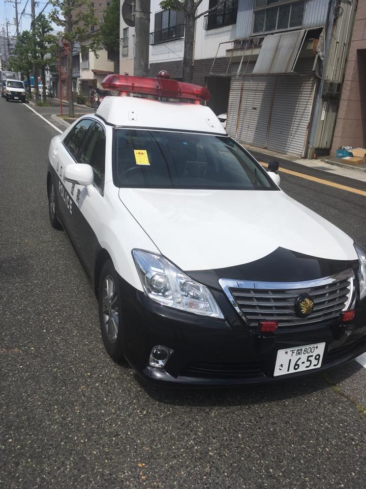 下関の駐車違反取締は容赦がないです。(^_-)