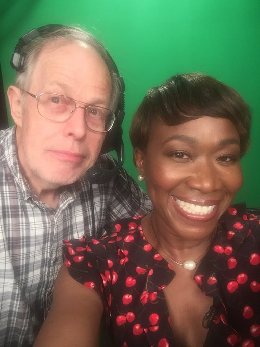 Green screen selfie with @pverhagen01 at the nation's first licensed PBS station, CET in Cincinnati!