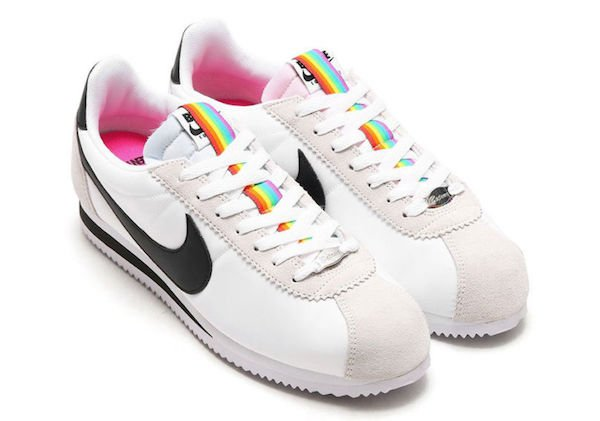 Nike is releasing rainbow sneakers in celebration of LGBTQ pride month...