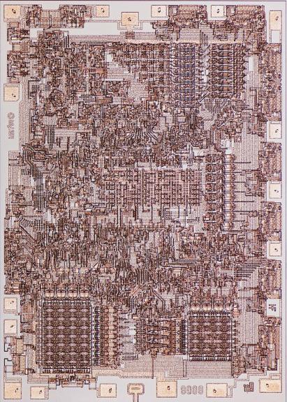 Intel's 8080 processor does look a bit like a city plan. https://t.co/nVHbnwJ5Io