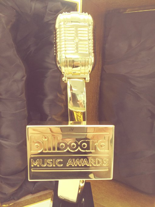 #Billboard trophy in the house! #BTS