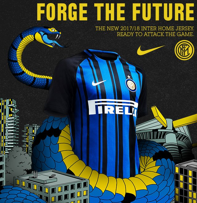 #OFFICIEL  #Inter Milan : Maillot Home 2017/2018<br>http://pic.twitter.com/YNBYSH3TbV