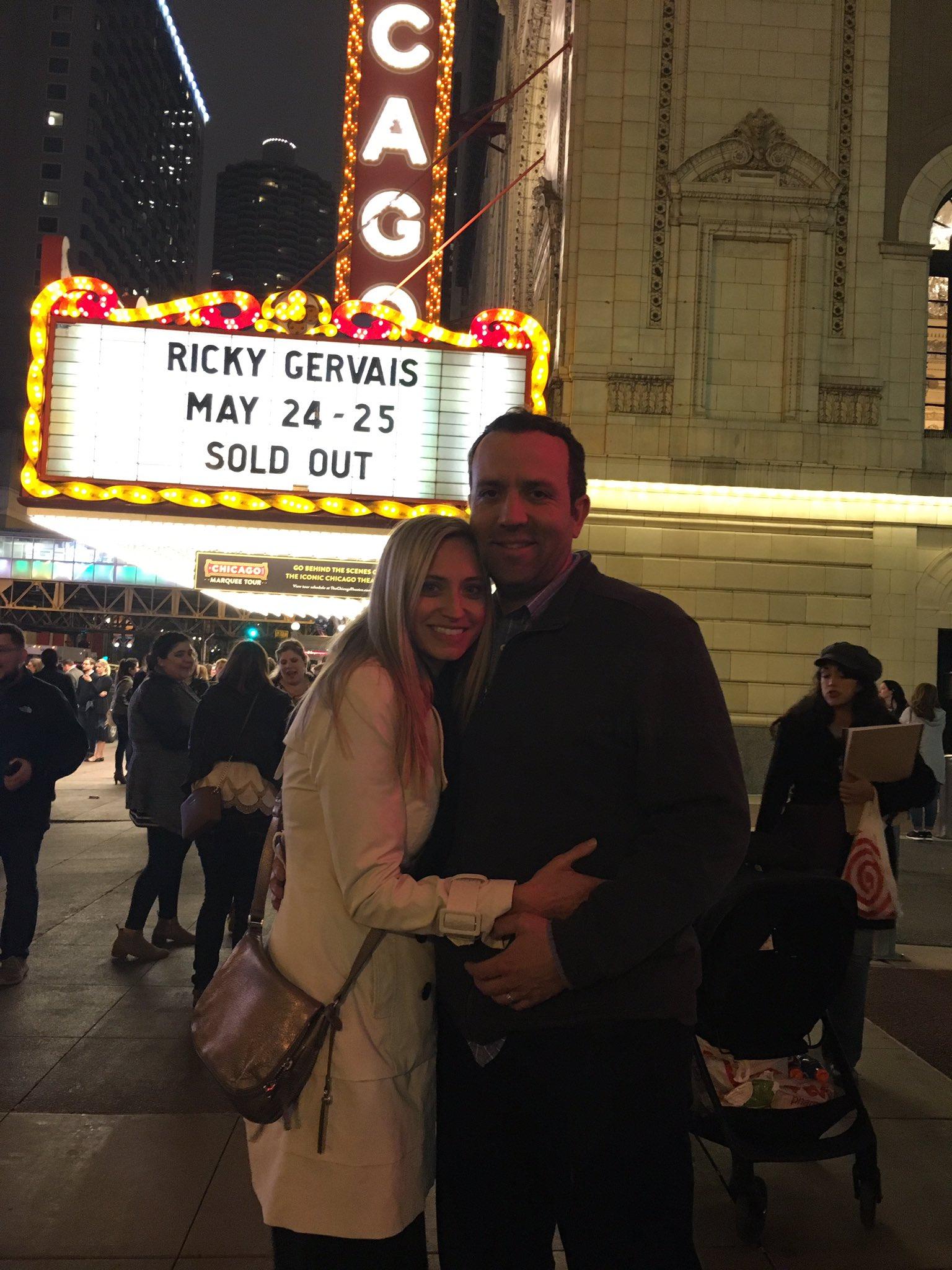 RT @KateW23: Amazing night!! Thanks @rickygervais!!! Amazing show!! https://t.co/p2erQztTaP