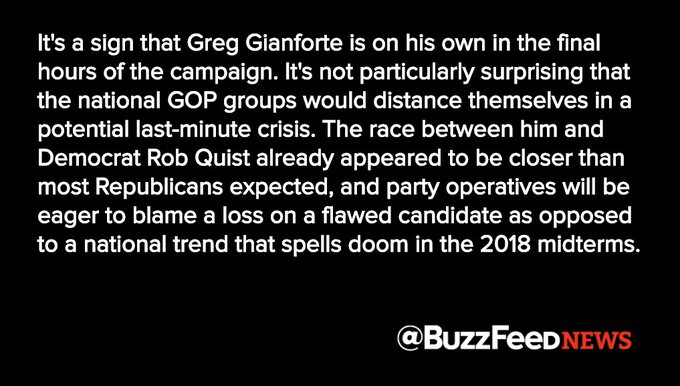 National Republicans were mostly silent after their candidate, Greg Gianforte, was accused of assaulting a reporter https://t.co/SMiet6CZ5q