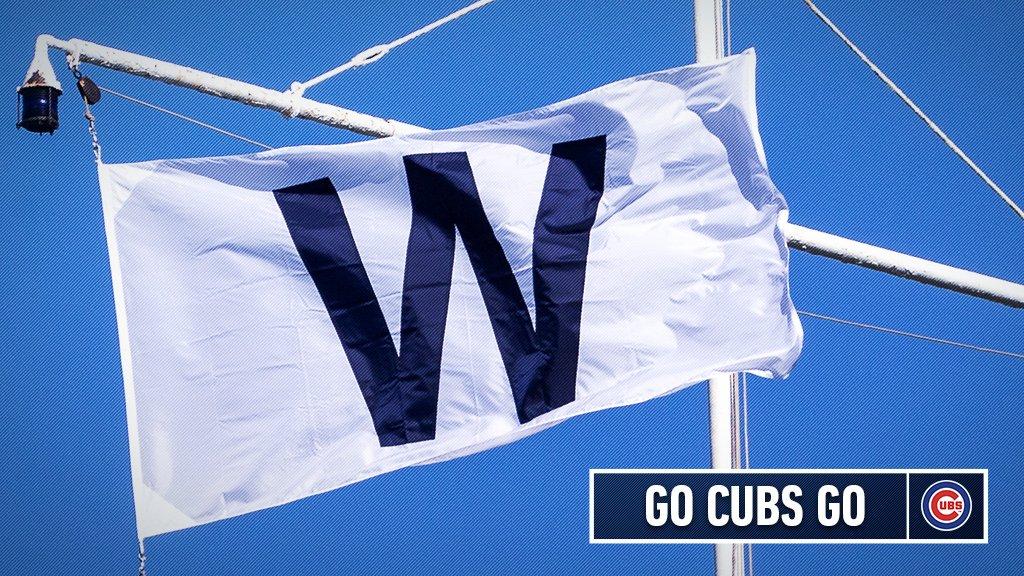 Cubs win!  Final: #Cubs 5, #SFGiants 4.