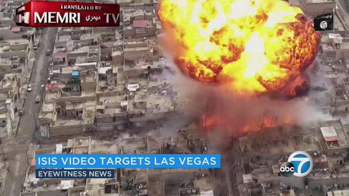 New video shows ISIS targeting Las Vegas as potential terror target https://t.co/3RRBgOg6hN