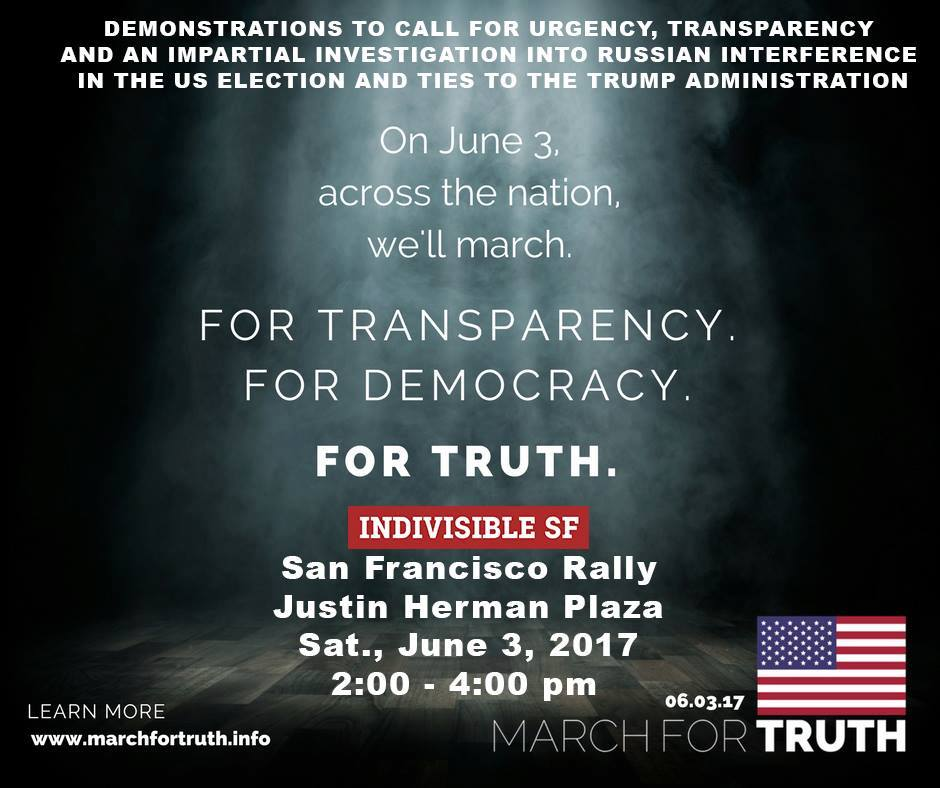 San Francisco Rally in Support of #MarchForTruth @ Chelsea Manning Plaza | San Francisco | California | United States