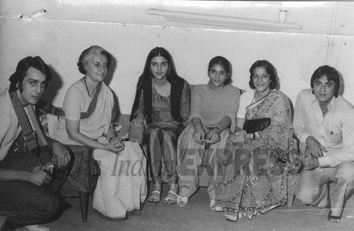 Image result for sunil dutt indira gandhi