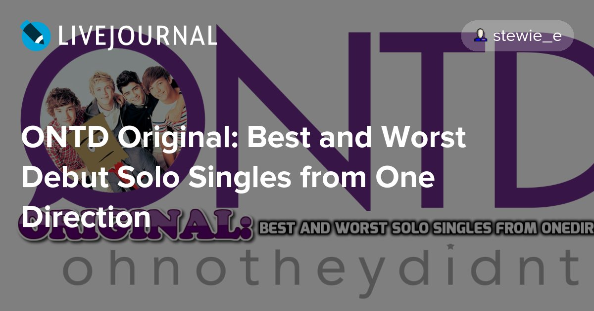 ONTD Original: Best and Worst Debut Solo Singles from One Direction  http:// dlvr.it/PDl84W  &nbsp;   #zaynmalik #ontdoriginal<br>http://pic.twitter.com/CTml6cUlGr