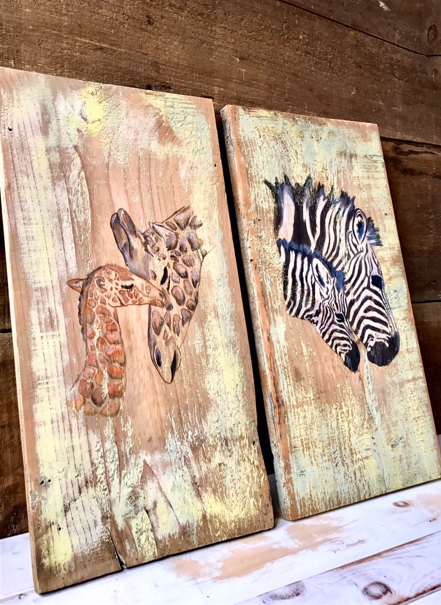 Original Animal Art On Barn Wood  https://www. etsy.com/shop/BrokenBoa rdsDesign?ref=hdr_shop_menu &nbsp; …  #Etsy #art #babyshower #epiconetsy #EtsySeller #Baby #babyshowergifts #giftsideas <br>http://pic.twitter.com/3T8hYg4DYH