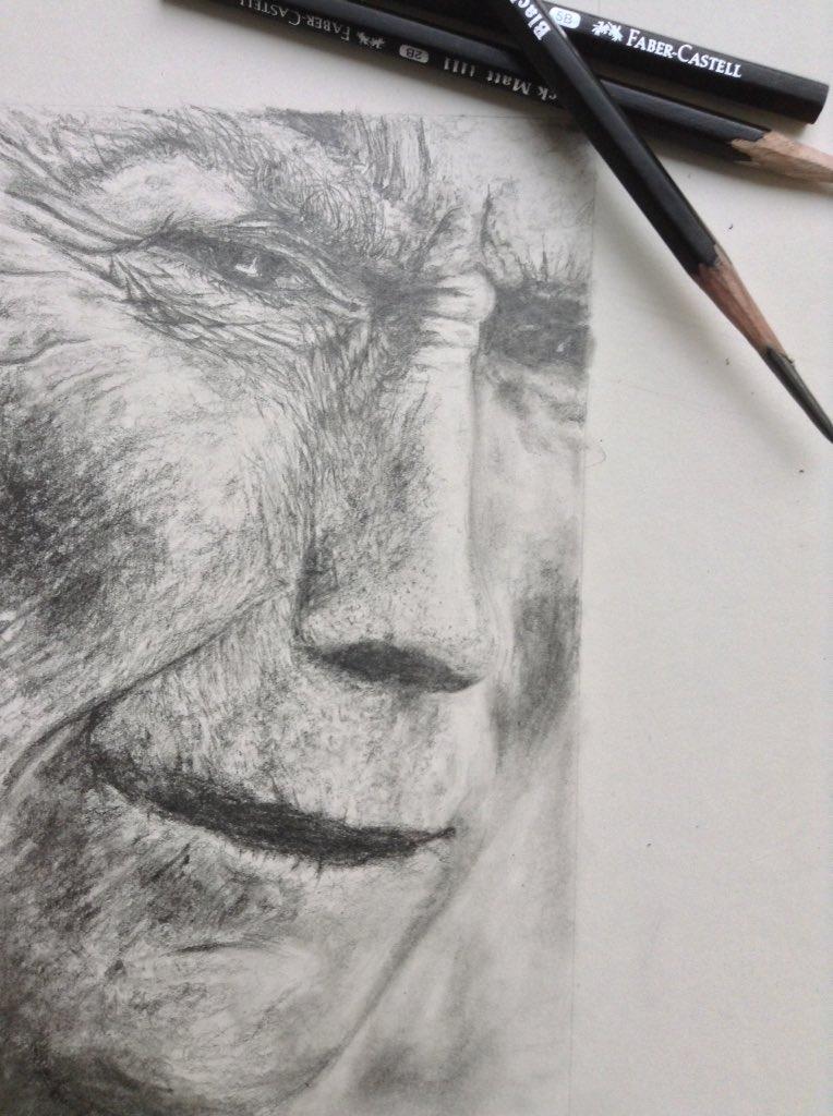 #Tribute sketch #clint eastwood <br>http://pic.twitter.com/DpG0Z9vphL