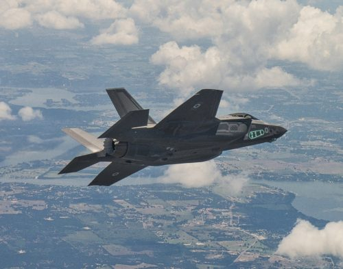 اسرائيل ستستلم نسخه خاصه من المقاتله F-35 خاصه بالاختبارات في عام 2020 DAphY1UUIAAqkOB