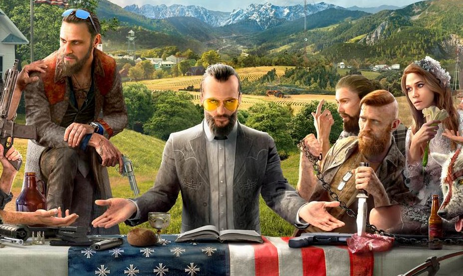 See Far Cry 5's cover and meet its characters https://t.co/rzXqHtjFAF...