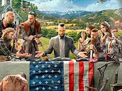 「Far Cry 5」のキーアート公開。アメリカ政府からの分離を目指すヴィランと,その配下達の姿か https://t.co/Cbs2Sdl...