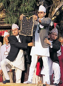 Just in case you were wondering where #Messi got the &quot;move&quot; from   Happy Bhoto Jatra, #Nepal <br>http://pic.twitter.com/KQuSdB1xjO