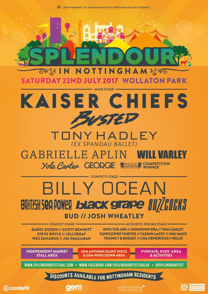 Want two FREE tickets to @splendourfest 2017? Retweet this to be in with a shot... https://t.co/5UKwqRgMsF