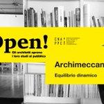 Domani, dalle 18.00, #Archimeccanica invita a conoscere il proprio studio in occasione di #StudiAperti. INFO: https://t.co/3pcLL3DDLq