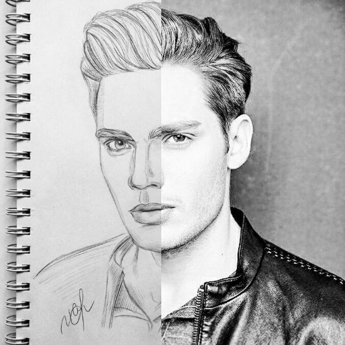 Drawing&amp;Photo (3 part will be later))) @ShadowhuntersTV @DomSherwood1 @MatthewDaddario #Shadowhunters #art #drawing #portrait <br>http://pic.twitter.com/hmFhLaXIzb