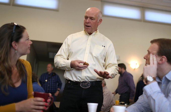 Montana GOP congressional candidate cited with misdemeanor assault after a reporter said he 'body slammed' him. https://t.co/Y4TRfVuW5c