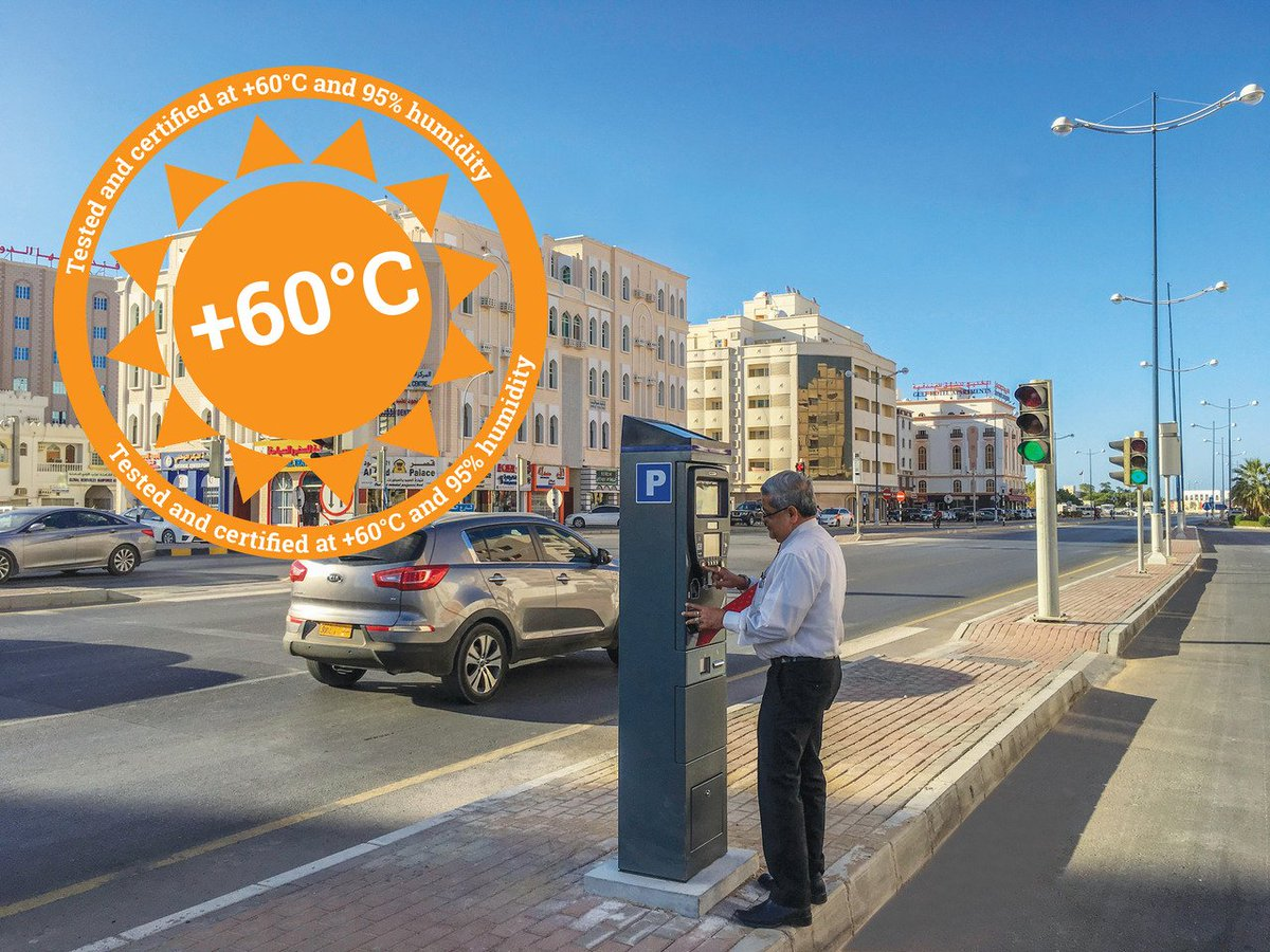 We can take the heat! Tested to +60 degrees - find out more on stand 10B-10 at @IntertrafficTr #ITI17 #parking #sunsout<br>http://pic.twitter.com/xR9TdNg0oj