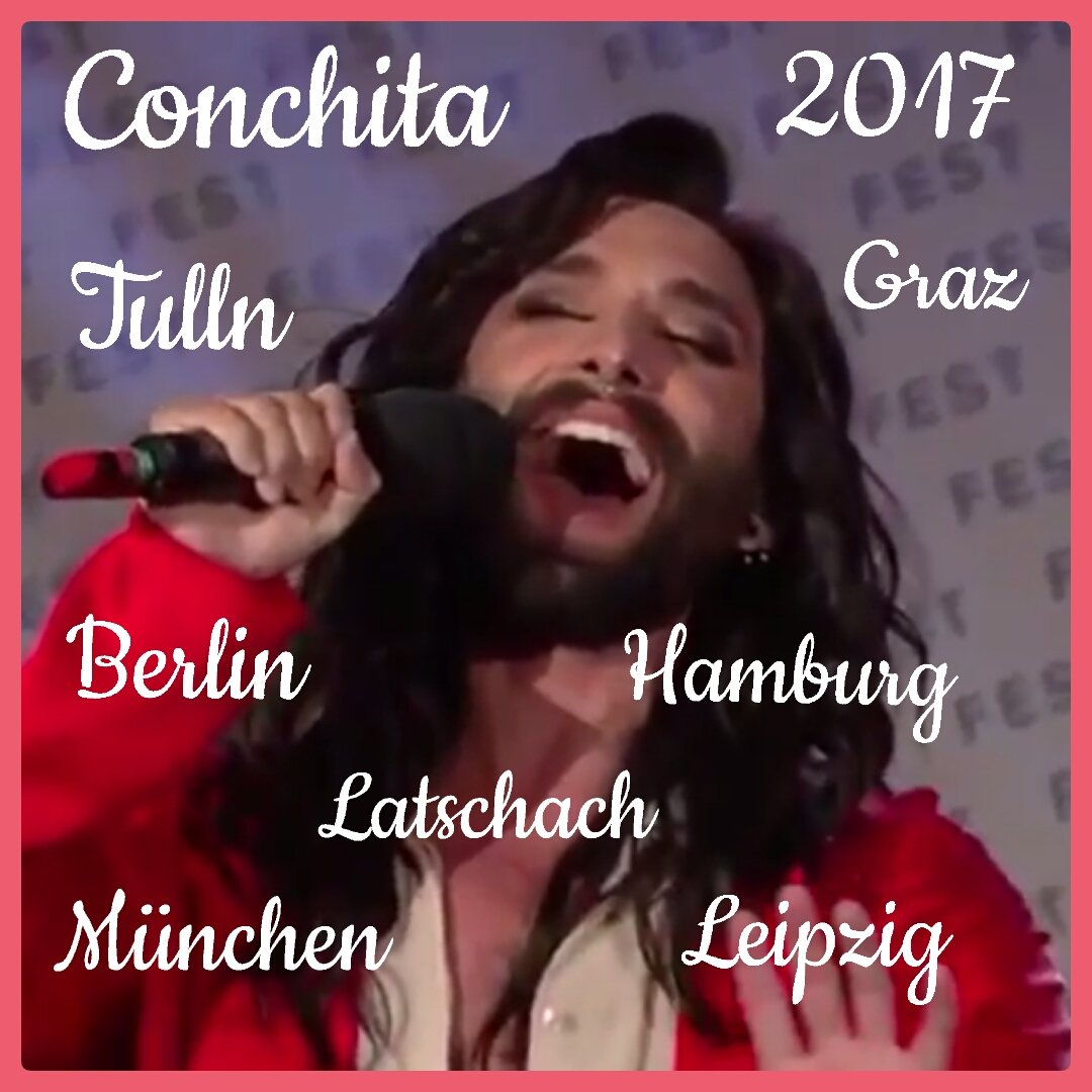 I can&#39;t wait to see you in #Graz #Tulln &amp; #Hamburg this year @ConchitaWurst  All upcoming events   http:// conchitawurst.com/index.php?id=2  &nbsp;   #conchita<br>http://pic.twitter.com/of7T9nc8bz