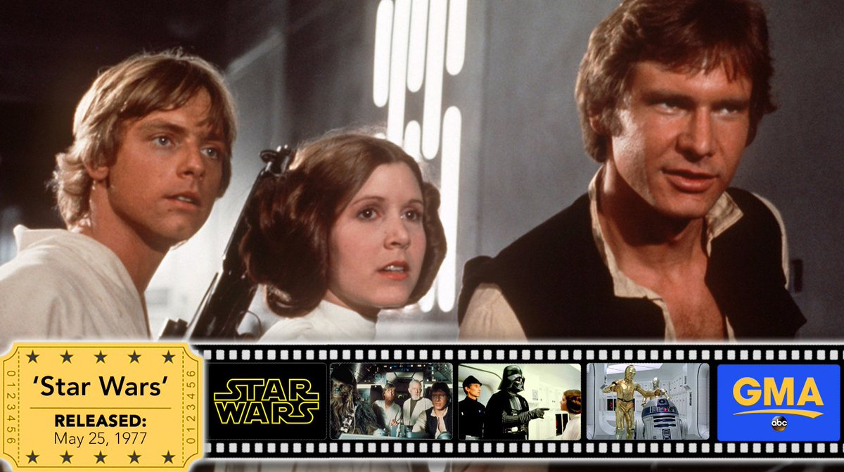On this day 40 years ago, @StarWars was released in theaters. #StarWar...