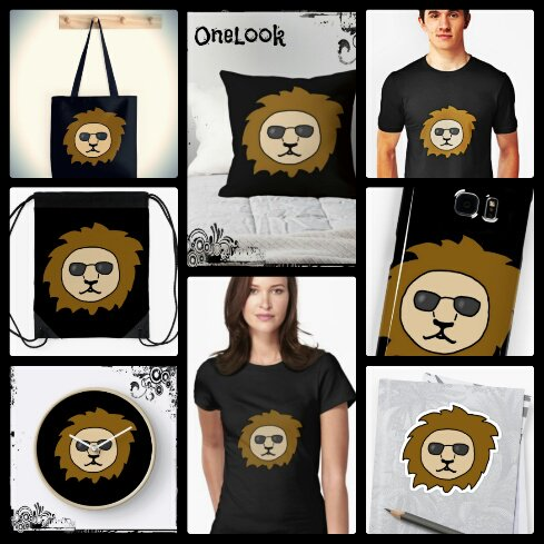 A cool lion on black - Available on my #redbubble store  https://www. redbubble.com/people/onelook /works/26358279-a-cool-lion-with-sunglasses-on-black?asc=u &nbsp; …   #cool #lion #black<br>http://pic.twitter.com/4Mgh2fOIWH