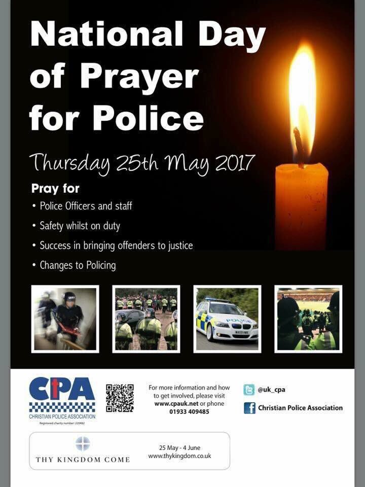 Please take a moment to pray for   #police family everywhere on national day of prayer for police #NDPP17 #ThyKingdomCome @DC_CPA @uk_cpa<br>http://pic.twitter.com/rYJ9B8IQm8