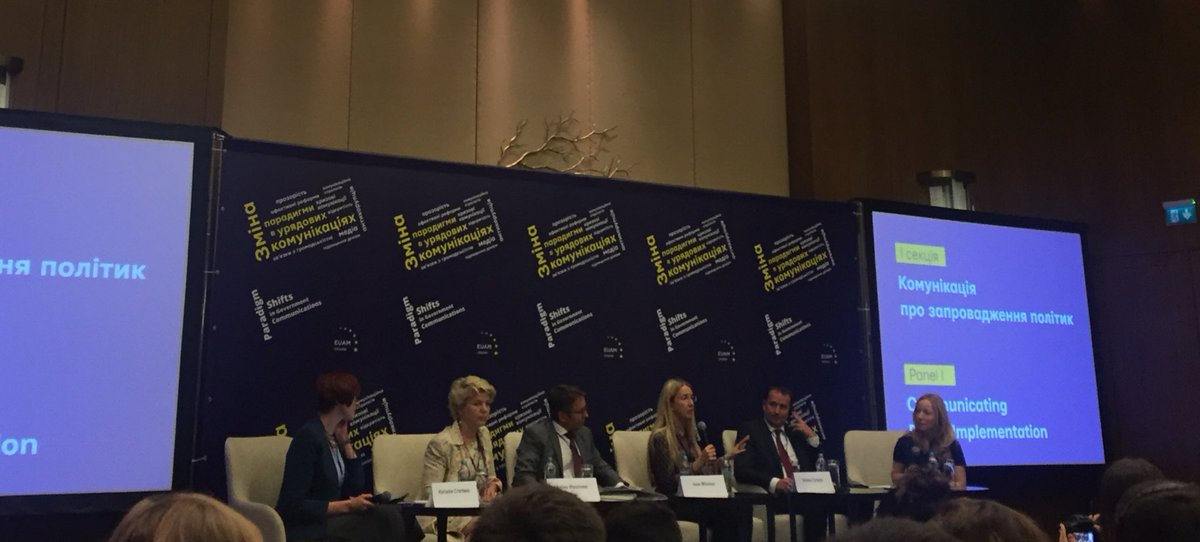A/Min Suprun &quot;it is important to personalize messages so that people can find themselves and their place in the #reform&quot; @MoH_Ukraine<br>http://pic.twitter.com/xvCtQQJKXE