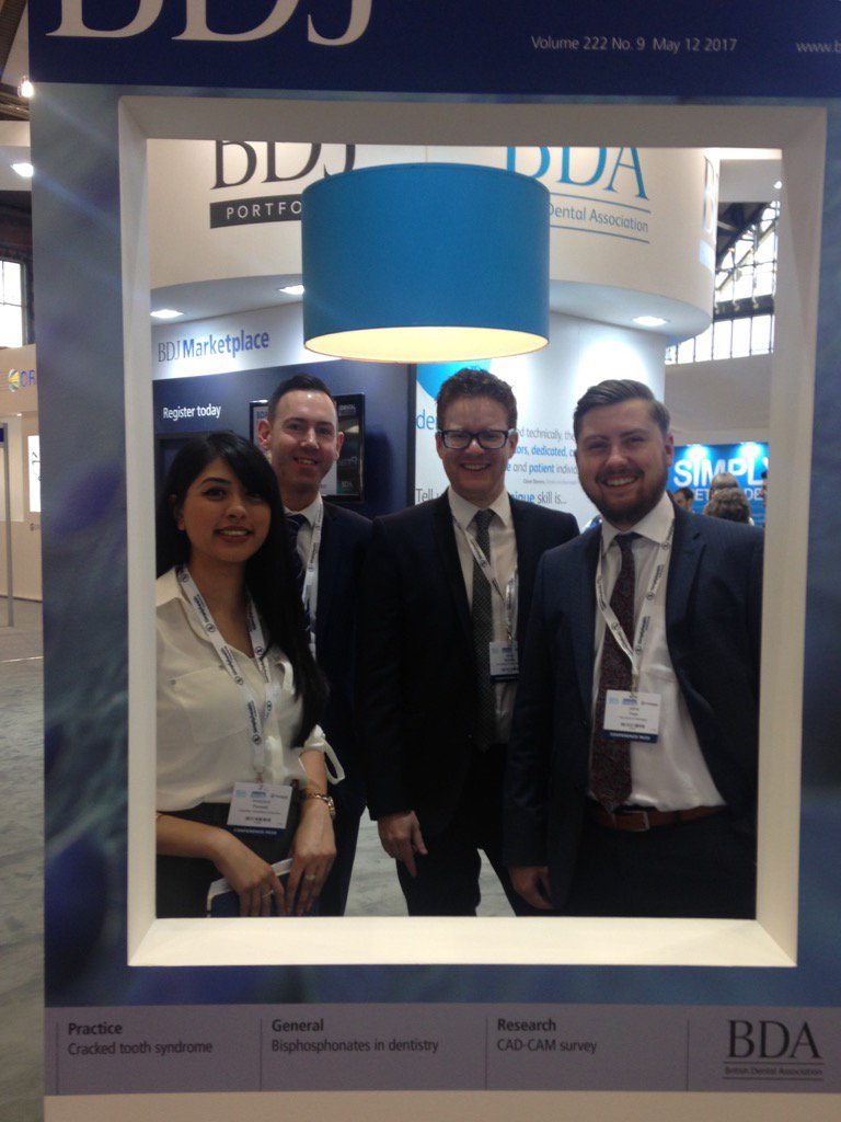 Come and meet the team at Stand B35!#BDA2017  Grab a selfie with our #BDJ wall  😁 https://t.co/UMW4Go0xj0