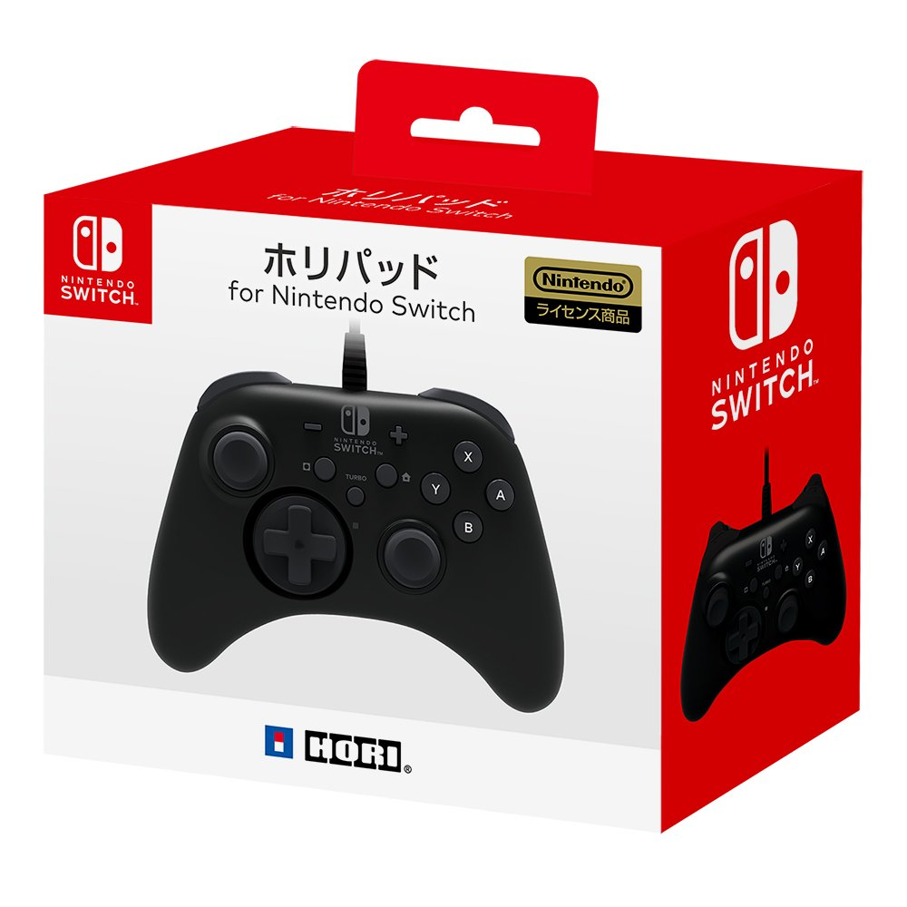 Hori releasing their own Switch Pro Controller and