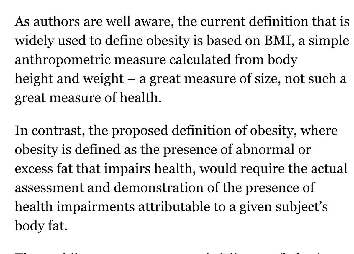 """ellen govers on twitter: """"agree with definition: obesity is presence"""