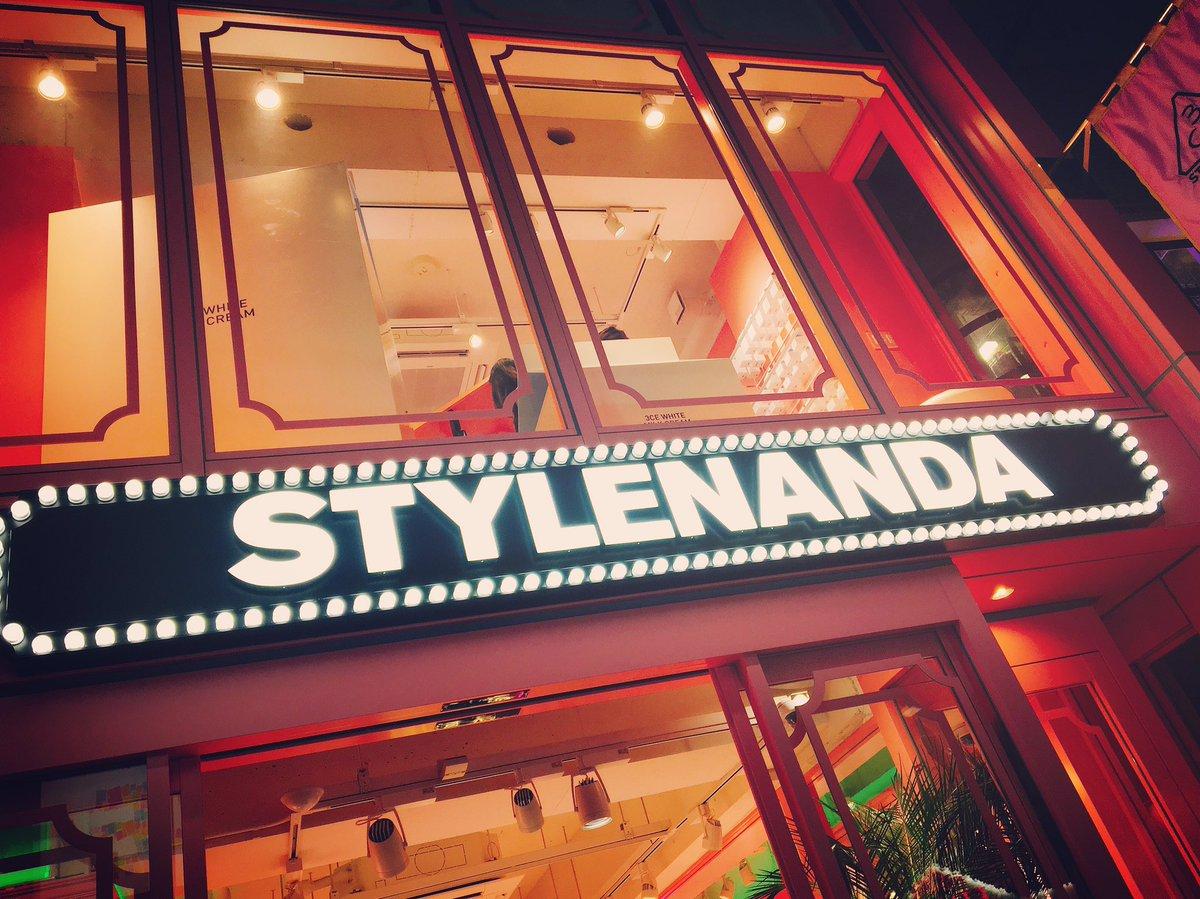yesterday~☺︎   #STYLENANDA #3CE<br>http://pic.twitter.com/BYRIjGokDK