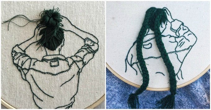These EMBROIDERED Hairstyles Will Make Your Jaw Drop