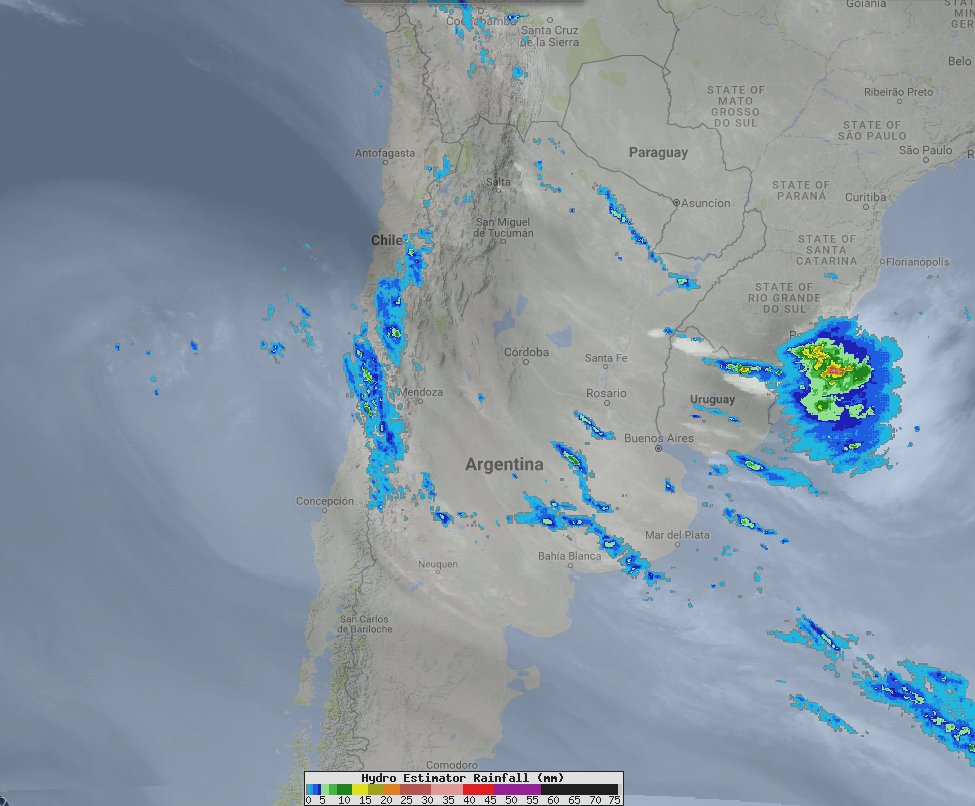 Rain &amp; mountain snow will wind down across C #Chile later Thursday; chilly the next few nights with patchy frost across interior valleys. <br>http://pic.twitter.com/vscuUO6kkD