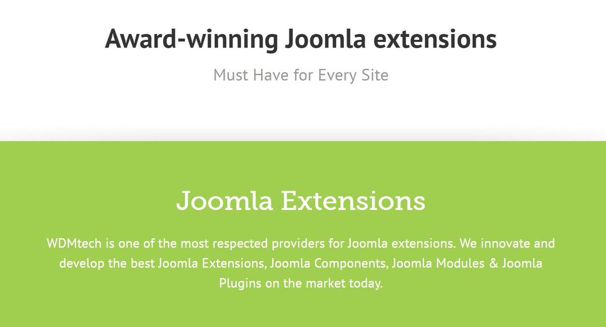 Award winning Joomla extensions  http:// goo.gl/MdoWQt  &nbsp;   #joomla #extensions #modules #plugins #templates #websites #quiz #survey #restaurant <br>http://pic.twitter.com/Y16J1EAhvL