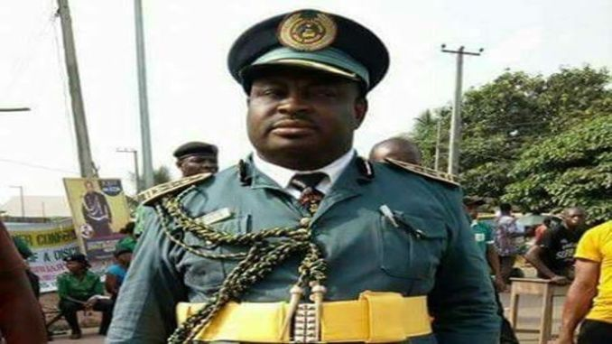 The commandant of Ocha Brigade, the quasi-terror organisation formed by the Anambra State Governor Willie Obiano, Chief Kenneth Okonkwo is dead