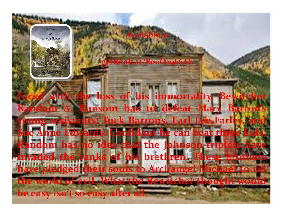 Can Tuck, Sue Anne, and Earl Lee stop Random A. Ransom?  @SolsticePublish  #YA  #paranormal   http:// getBook.at/B00O29F6AE  &nbsp;  <br>http://pic.twitter.com/ZKDqQ0gREr