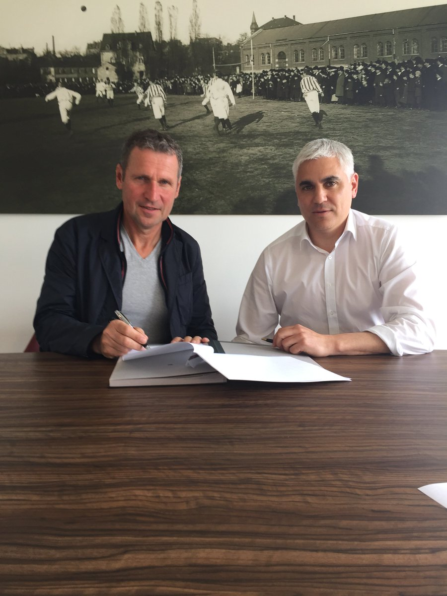 New man for the NLZ: Reiner Geyer becomes our U21 trainer and is now part of the management team. #fcn <br>http://pic.twitter.com/6EQsuU8vaD