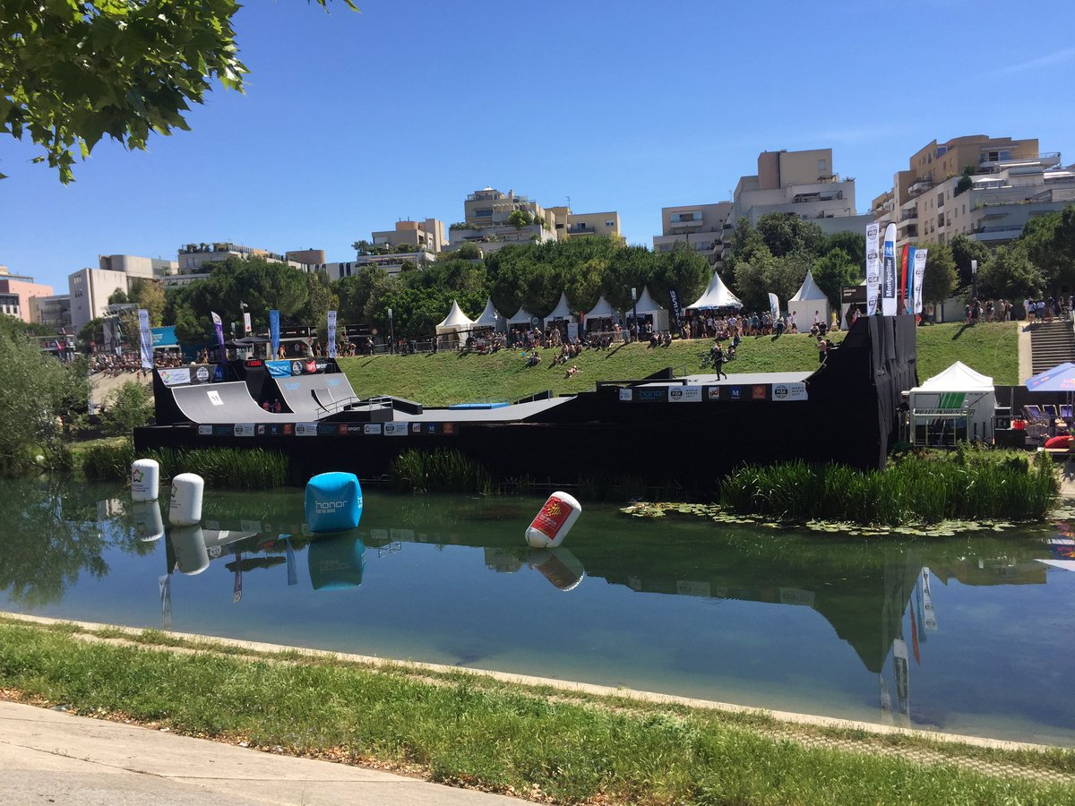 What a beautiful day in #Montpellier for #FISE2017<br>http://pic.twitter.com/TbO2eKi9OX