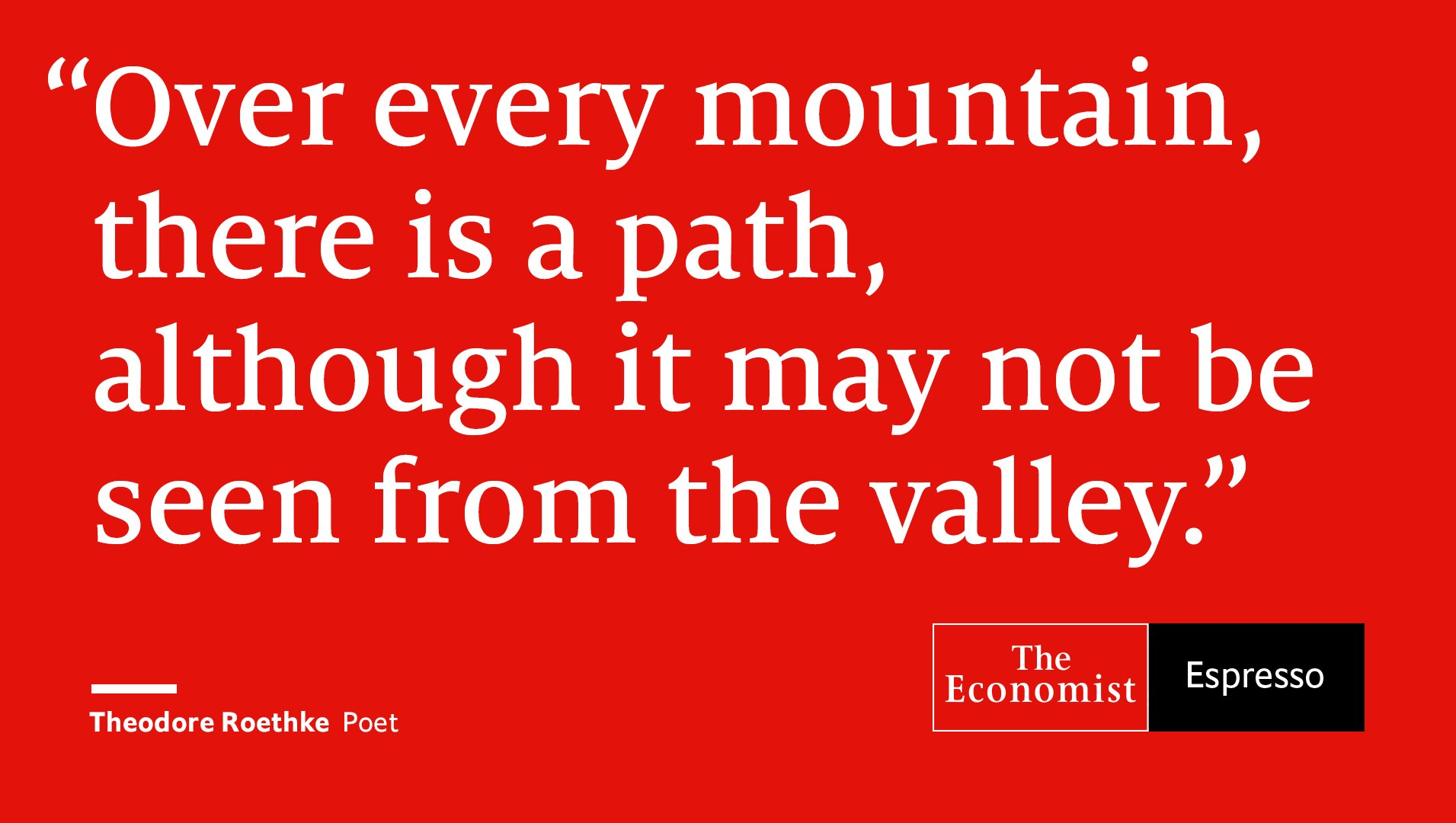Our quote of the day is from American poet Theodore Roethke https://t.co/nTCdT8eKhK