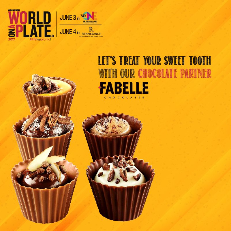 Indulge in the luxury of exquisite #gourmet delicacies and #sweet treats with our official #chocolate partner @Fabelle ! #WOAP2017<br>http://pic.twitter.com/nda6pPesf3